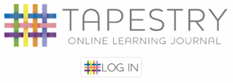 Log into Tapesty: Online learning journal